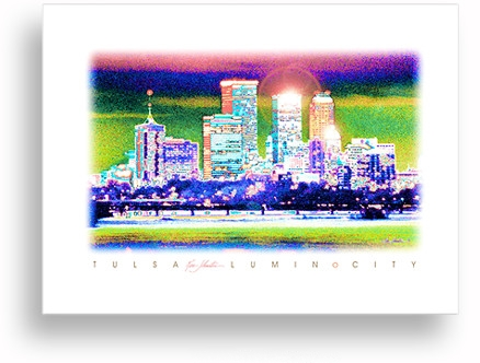 TULSA LuminoCity by Ken Johnston