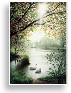 KenJohnston.com > Landscapes > Peaceful Waters Art Print
