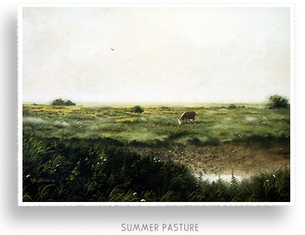 Summer Pastures by Ken Johnston