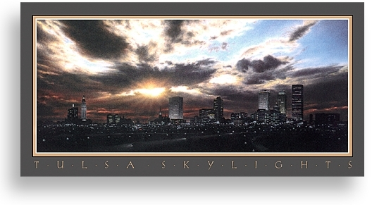 Tulsa Skylights by Ken Johnston